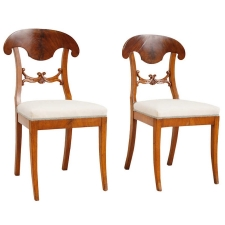 Pair of Karl Johan Chairs,  Sweden, c. 1820