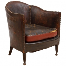 French Vintage Deco Club Chair
