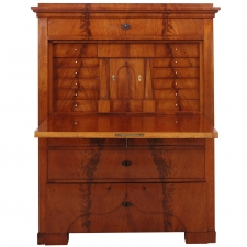 Biedermeier Fall-Front Secretary in Mahogany, circa 1825