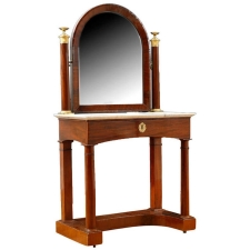 French Charles X Dressing Table, c. 1820