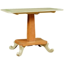 Tilt-top Table in Painted European Pine c. 1835