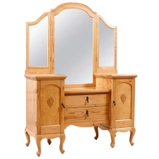 Art Deco Dressing Table in Pine, c. 1920