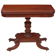 American Federal Games Table, circa 1815