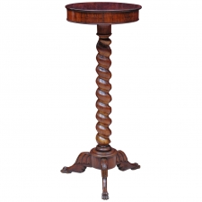 19th Century Small Rosewood Round Tripod Table